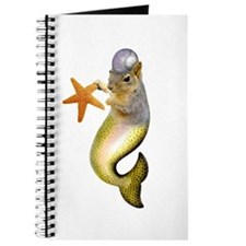 Mermaid Squirrel Journal