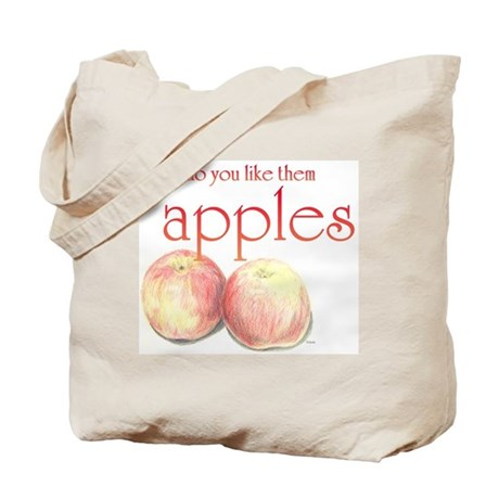 Like Them Apples Canvas Tote Bag