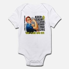 Rosie Keep Calm Sarcoma Infant Bodysuit