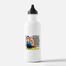 Rosie Keep Calm Sarcoma Water Bottle