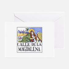 Calle de la Magdalena, Madrid Greeting Cards (Pack