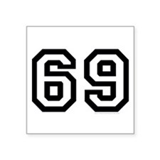 69 design Sticker