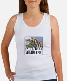 Calle de la Magdalena, Madrid Women's Tank Top