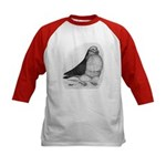 Chinese Owl Pigeon Kids Baseball Jersey