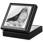 Chinese Owl Pigeon Keepsake Box