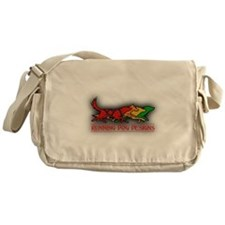 Running Dog Designs Messenger Bag