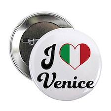 """Italy I Heart Venice 2.25"""" Button"""