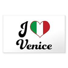 Italy I Heart Venice Decal
