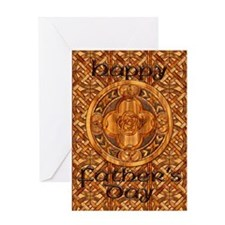Harvest Moons Celtic Father's Day Greeting Card