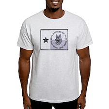 Texas K9 Narc Ash Grey T-Shirt