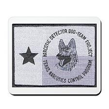 Texas K9 Narc Mousepad