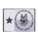Texas K9 Narc Postcards (Package of 8)