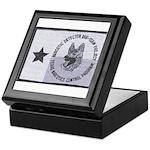 Texas K9 Narc Keepsake Box