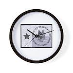 Texas K9 Narc Wall Clock