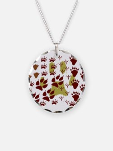 Animal Tracks Necklace