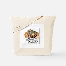 Calle de Toledo, Madrid - Spain Tote Bag