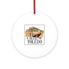 Calle de Toledo, Madrid - Spain Ornament (Round)