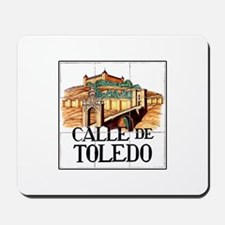 Calle de Toledo, Madrid - Spain Mousepad