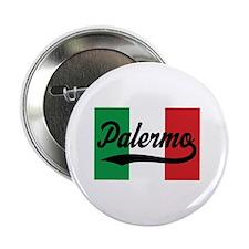 "Italian Flag Palermo 2.25"" Button"