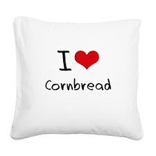 I love Cornbread Square Canvas Pillow