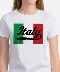 Italy Italian Flag Women's T-Shirt