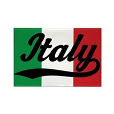 Italy Italian Flag Rectangle Magnet
