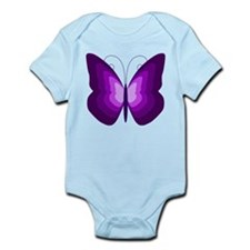 Purple Butterfly Body Suit