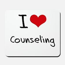 I love Counseling Mousepad
