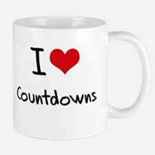I love Countdowns Mug