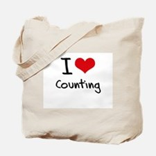 I love Counting Tote Bag