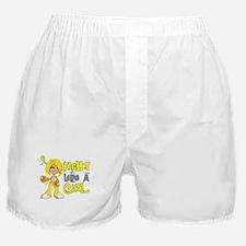 Fights Like a Girl 42.8 Sarcoma Boxer Shorts