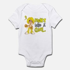 Fights Like a Girl 42.8 Sarcoma Infant Bodysuit