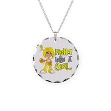 Fights Like a Girl 42.8 Sarcoma Necklace