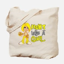 Fights Like a Girl 42.8 Sarcoma Tote Bag