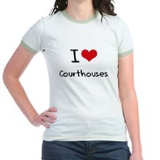 I love Courthouses T-Shirt