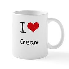 I love Cream Mug