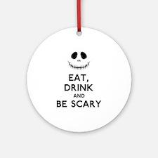 Halloween Humor Ornament (Round)