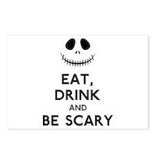 Halloween Humor Postcards (Package of 8)