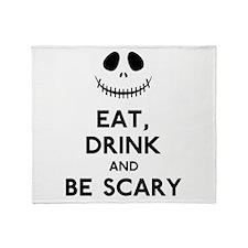 Halloween Humor Throw Blanket