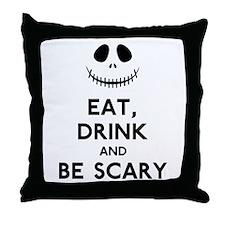 Halloween Humor Throw Pillow
