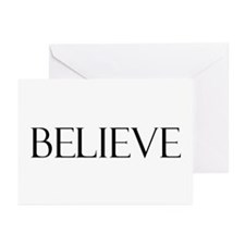 Believe Christmas Cards (Pk of 10)
