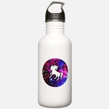 Unicorn in Space Water Bottle