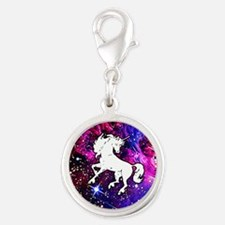 Unicorn in Space Charms