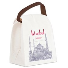 Istanbul Canvas Lunch Bag