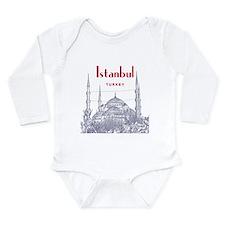 Istanbul Long Sleeve Infant Bodysuit