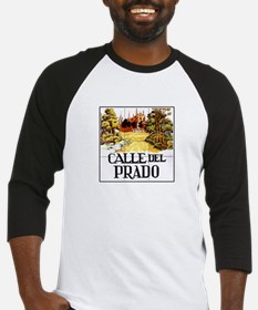 Calle del Prado, Madrid - Spain Baseball Jersey