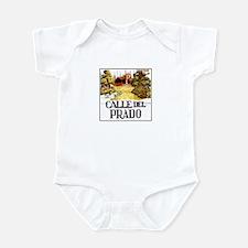 Calle del Prado, Madrid - Spain Infant Bodysuit