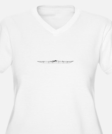 Inuit Kayak Logo Plus Size T-Shirt
