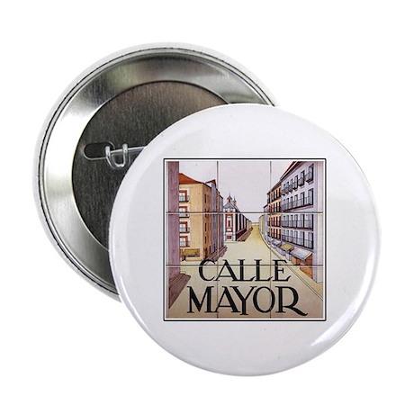 Calle Mayor, Madrid - Spain Button