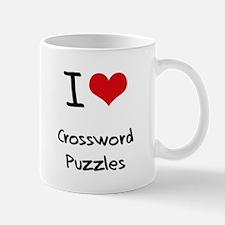I love Crossword Puzzles Mug